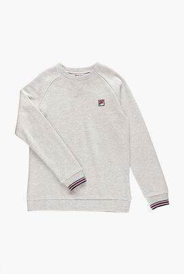 Tipped Cuff Sweatshirt