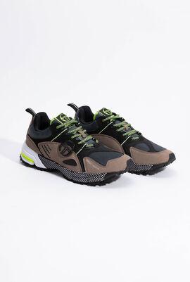 Koman Caribou/Lime Sneakers