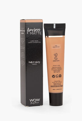 Flawless Matte - Long Wear Liquid Foundation, Y150 Honey Harmony