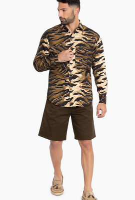 Camouflage Long Sleeves Shirt