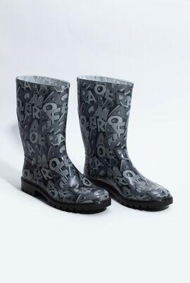 Farabel Logo Transparent Boots